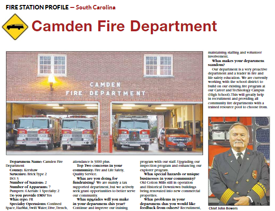 Camden Police and Fire Departments in the Spotlight | City